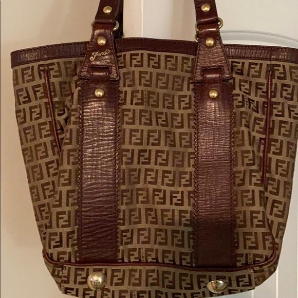 Authentic Fendi Zucca bag